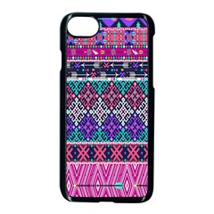 Tribal Seamless Aztec Pattern Apple Iphone 7 Seamless Case (black)