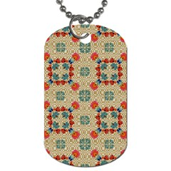 Traditional Scandinavian Pattern Dog Tag (two Sides) by BangZart