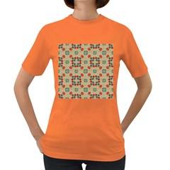 Traditional Scandinavian Pattern Women s Dark T Shirt
