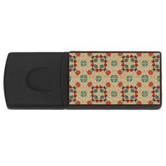Traditional Scandinavian Pattern Rectangular Usb Flash Drive