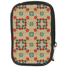 Traditional Scandinavian Pattern Compact Camera Cases by BangZart