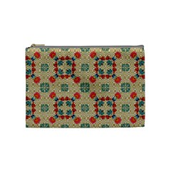 Traditional Scandinavian Pattern Cosmetic Bag (medium)  by BangZart