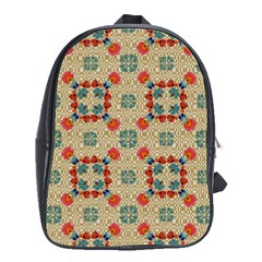 Traditional Scandinavian Pattern School Bags(large)