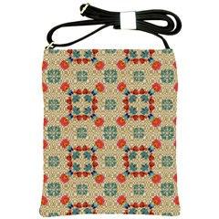 Traditional Scandinavian Pattern Shoulder Sling Bags by BangZart