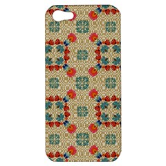 Traditional Scandinavian Pattern Apple Iphone 5 Hardshell Case