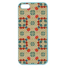 Traditional Scandinavian Pattern Apple Seamless Iphone 5 Case (color)