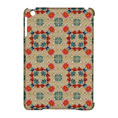 Traditional Scandinavian Pattern Apple Ipad Mini Hardshell Case (compatible With Smart Cover) by BangZart