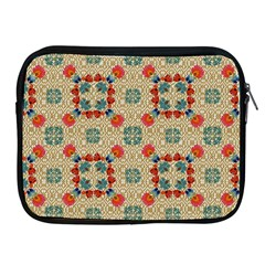 Traditional Scandinavian Pattern Apple Ipad 2/3/4 Zipper Cases