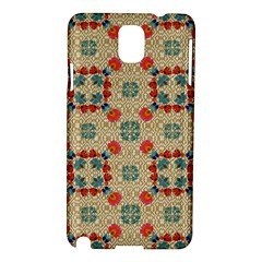 Traditional Scandinavian Pattern Samsung Galaxy Note 3 N9005 Hardshell Case