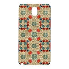 Traditional Scandinavian Pattern Samsung Galaxy Note 3 N9005 Hardshell Back Case by BangZart