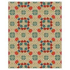 Traditional Scandinavian Pattern Drawstring Bag (small) by BangZart