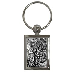 Tree Fractal Key Chains (rectangle)