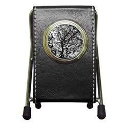 Tree Fractal Pen Holder Desk Clocks