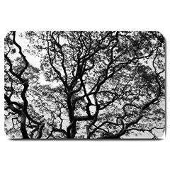 Tree Fractal Large Doormat  by BangZart