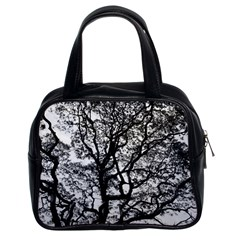 Tree Fractal Classic Handbags (2 Sides)