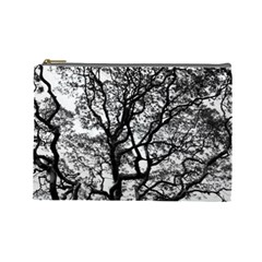 Tree Fractal Cosmetic Bag (large)  by BangZart