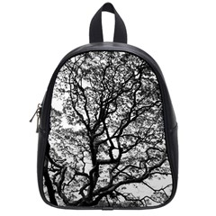 Tree Fractal School Bags (small)  by BangZart