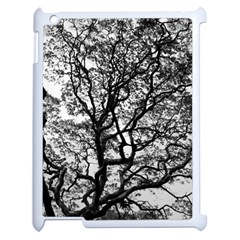 Tree Fractal Apple Ipad 2 Case (white) by BangZart