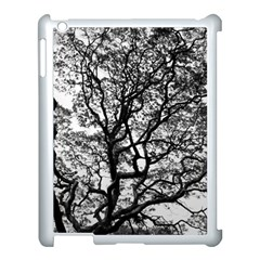 Tree Fractal Apple Ipad 3/4 Case (white) by BangZart