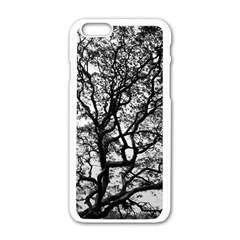 Tree Fractal Apple Iphone 6/6s White Enamel Case by BangZart