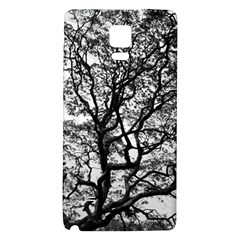 Tree Fractal Galaxy Note 4 Back Case