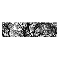 Tree Fractal Satin Scarf (oblong)