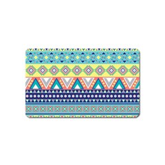 Tribal Print Magnet (name Card)