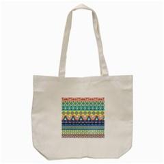 Tribal Print Tote Bag (cream) by BangZart