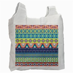 Tribal Print Recycle Bag (one Side) by BangZart