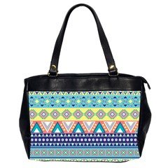 Tribal Print Office Handbags (2 Sides)  by BangZart