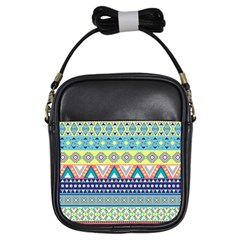 Tribal Print Girls Sling Bags