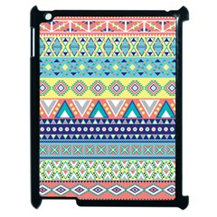 Tribal Print Apple Ipad 2 Case (black) by BangZart