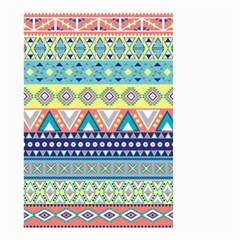 Tribal Print Small Garden Flag (two Sides)