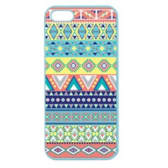 Tribal Print Apple Seamless Iphone 5 Case (color) by BangZart