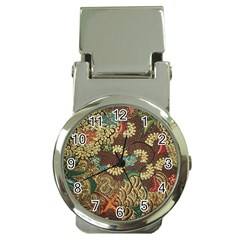 Traditional Batik Art Pattern Money Clip Watches by BangZart