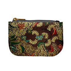 Traditional Batik Art Pattern Mini Coin Purses