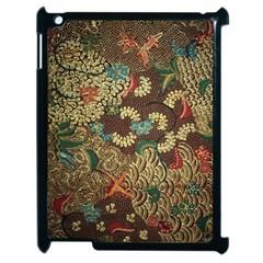 Traditional Batik Art Pattern Apple Ipad 2 Case (black)