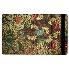 Traditional Batik Art Pattern Apple Ipad 2 Flip Case by BangZart