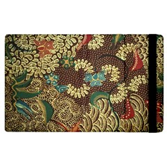 Traditional Batik Art Pattern Apple Ipad 3/4 Flip Case by BangZart