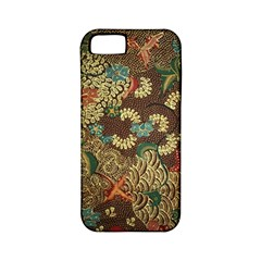 Traditional Batik Art Pattern Apple Iphone 5 Classic Hardshell Case (pc+silicone) by BangZart
