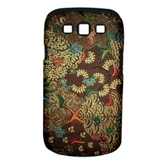 Traditional Batik Art Pattern Samsung Galaxy S Iii Classic Hardshell Case (pc+silicone) by BangZart