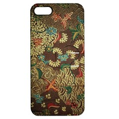 Traditional Batik Art Pattern Apple Iphone 5 Hardshell Case With Stand