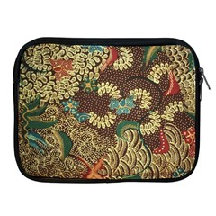 Traditional Batik Art Pattern Apple Ipad 2/3/4 Zipper Cases by BangZart