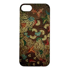 Traditional Batik Art Pattern Apple Iphone 5s/ Se Hardshell Case