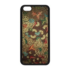 Traditional Batik Art Pattern Apple Iphone 5c Seamless Case (black) by BangZart