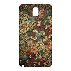 Traditional Batik Art Pattern Samsung Galaxy Note 3 N9005 Hardshell Back Case