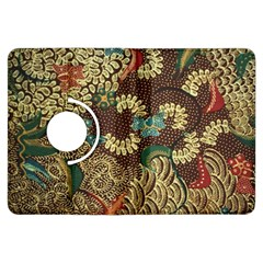 Traditional Batik Art Pattern Kindle Fire Hdx Flip 360 Case by BangZart