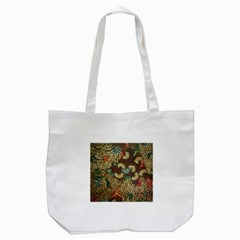 Traditional Batik Art Pattern Tote Bag (white) by BangZart