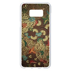 Traditional Batik Art Pattern Samsung Galaxy S8 Plus White Seamless Case