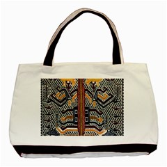 Traditional Batik Indonesia Pattern Basic Tote Bag